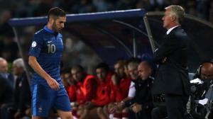 Benzema sort à l'heure de jeu face à la Géorgie