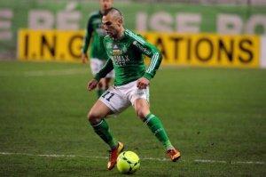 Entorse de la cheville pour Yoann Mollo, blessé sur un tacle d'A. Ayew (Source : France3.fr)